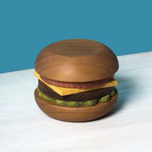 飾っても、使っても。遊びゴコロくすぐるRIVERSのハンバーガーコースター。