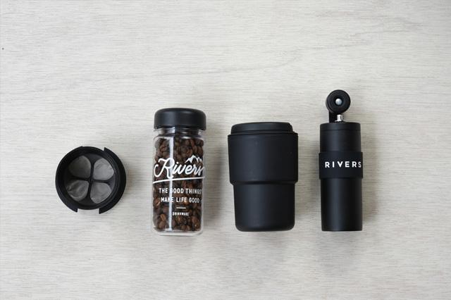 RIVERS(リバーズ)コーヒーグラインダー GRIT(グリット)