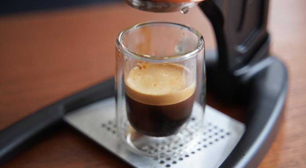 Flair Espressoで抽出