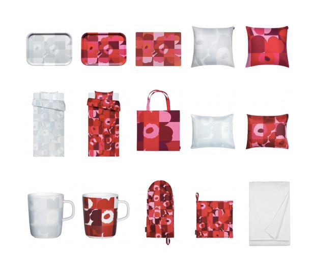 マリメッコ、RUUTU-UNIKKO柄の2015クリスマスコレクション