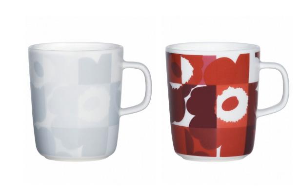marimekko RUUTU-UNIKKO 2015クリスマスコレクション マグカップ