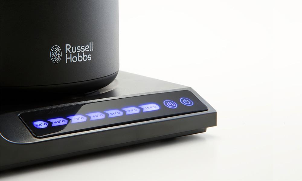 ラッセルホブスから温度調節が可能な電気ケトル【Tケトル】