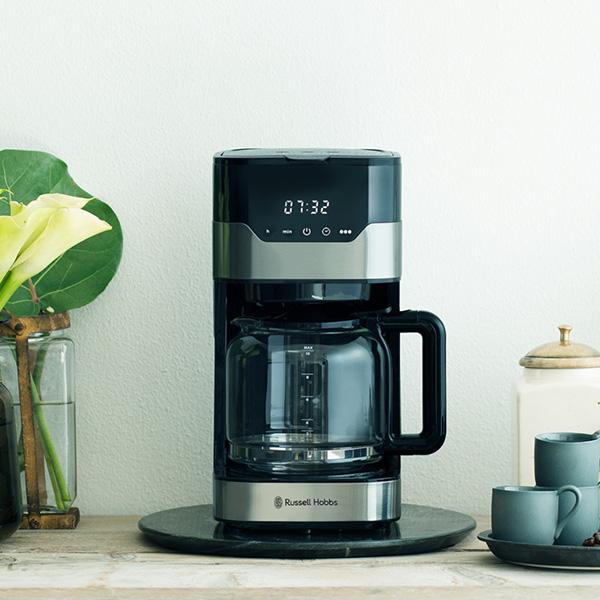 大容量なのにコンパクト! Russell Hobbs(ラッセルホブス)から、最大10カップ用の『グランドリップ』コーヒーメーカー登場!