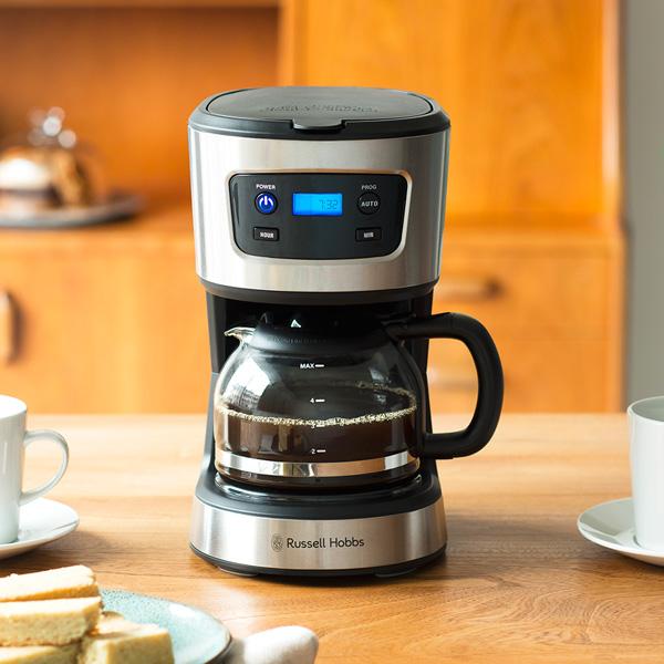 Russell Hobbs(ラッセルホブス)の5カップコーヒーメーカー、リニューアルして『Basic Drip ベーシックドリップ 7620JP』として新登場!