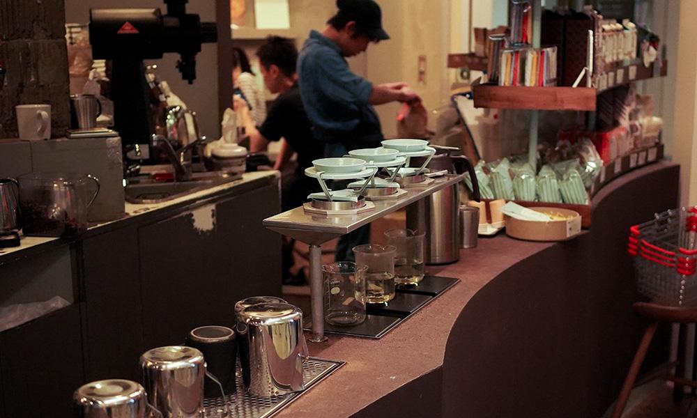猿田彦珈琲とティキタカアイスクリームのお店