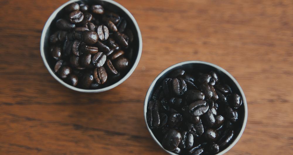 コーヒー豆 深煎り・お店による違い