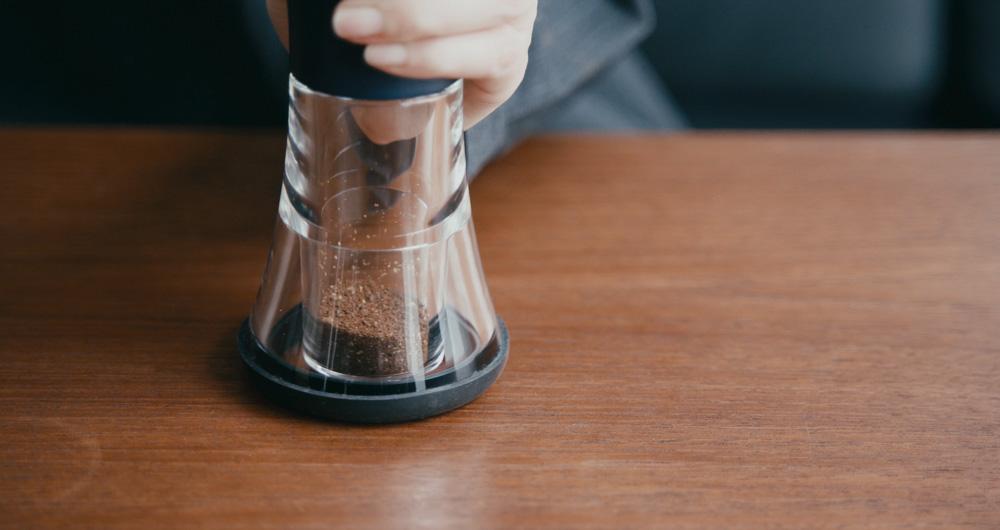 コーヒーミルのデザイン