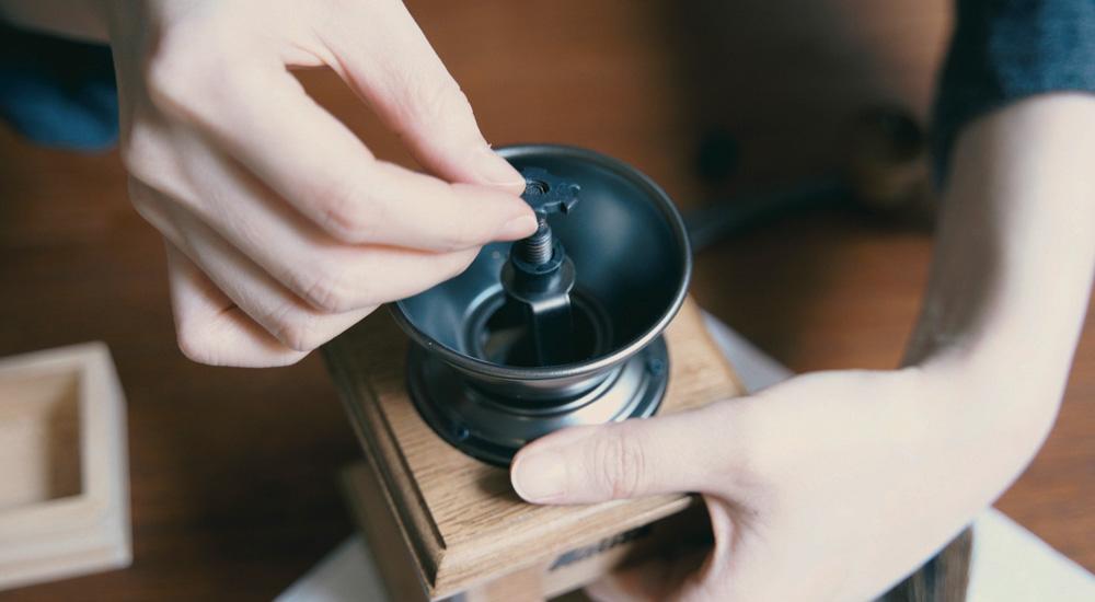 コーヒーミル 掃除