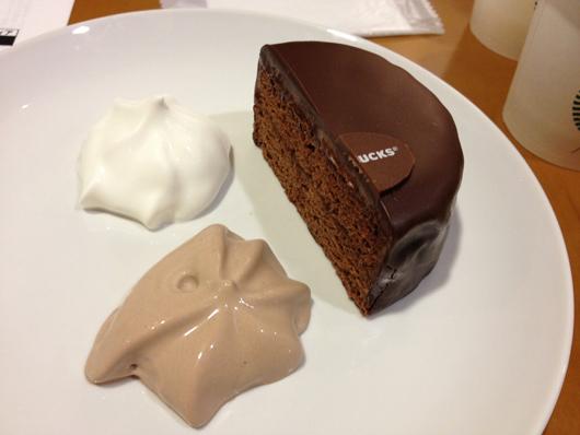 スターバックスコーヒーの期間限定コーヒーセミナー「フードペアリング Coffee Meets Chocolate編」ザッハトルテ