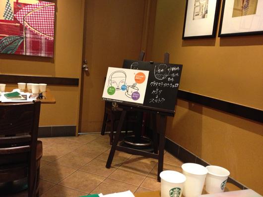 スターバックスコーヒーの期間限定コーヒーセミナー「フードペアリング Coffee Meets Chocolate編」チョコマカロン