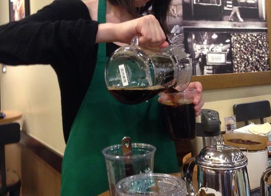 スターバックスコーヒーの期間限定コーヒーセミナー『おいしいいれ方 アイスコーヒー編』