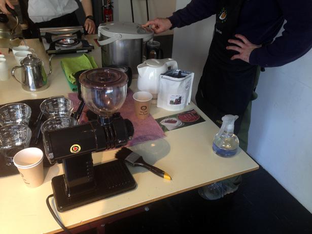 D&DEPARTMENT コーヒー教室
