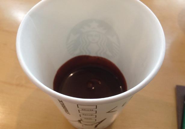 スターバックスコーヒー カフェモカシロップ