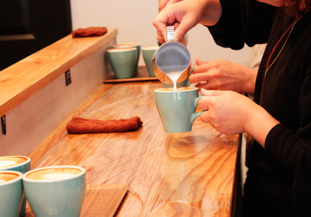 ETOILE COFFEE(エトワールコーヒー)ラテアートセミナー