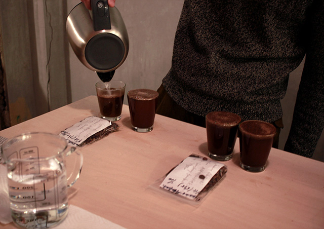COFFEE COUTYのオープンカッピング