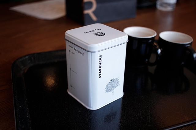 スターバックスコーヒーセミナー お土産 ブレンドコーヒー缶