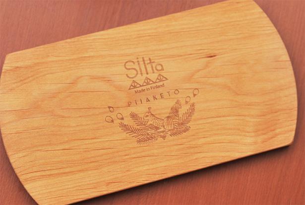 SILTA(シルタ) kuusi(クーシ)カップ&ウッドプレート