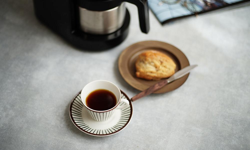 siroca(シロカ)全自動コーヒーメーカー のある風景