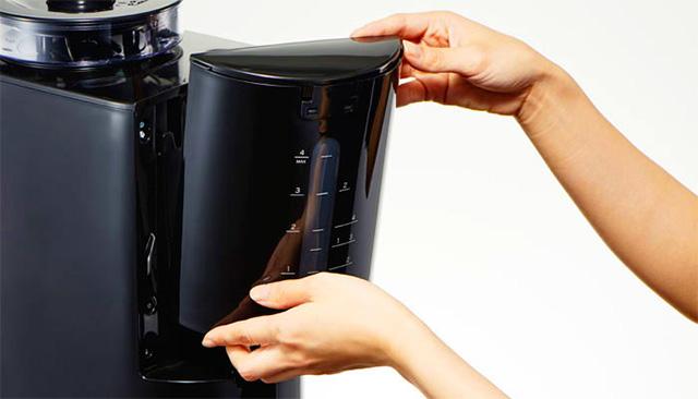siroca(シロカ)コーン式全自動コーヒーメーカー 給水タンク