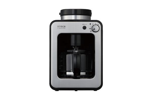 siroca(シロカ)の全自動コーヒーメーカー SC-A121 ステンレスシルバー
