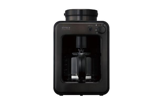 siroca(シロカ)の全自動コーヒーメーカー SC-A121 タングステンブラック