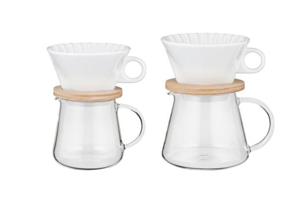 iwaki SNOWTOP コーヒーポット&ドリッパーセット