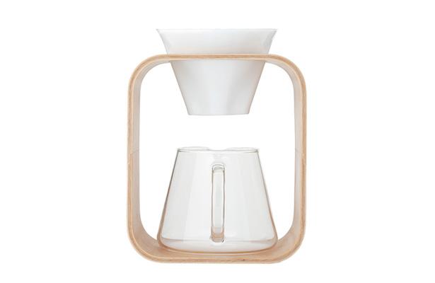 iwaki SNOWTOP コーヒーポット&ドリッパースタンドセット