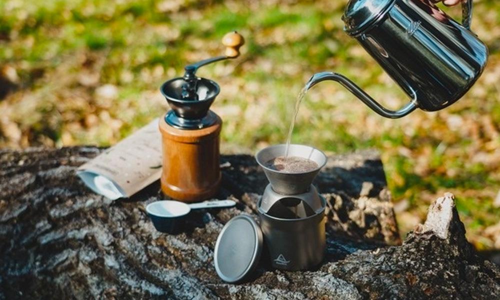 Snufkinの純チタン製 coffee&teaメーカー