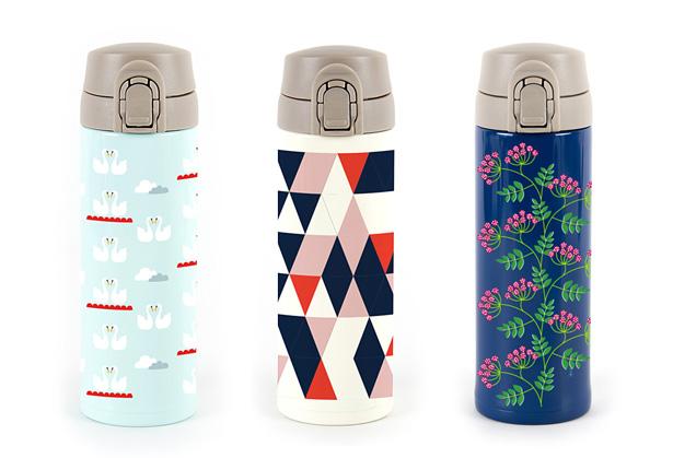 スカンジナビアンパターンコレクションのマグボトル
