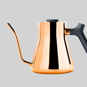FELLOW STAGG KETTLE(フェロー スタッグケトル)に、コッパーが登場です。