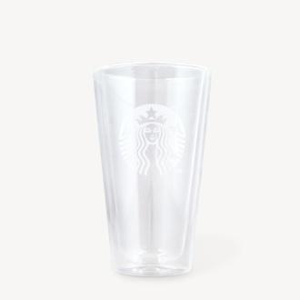 フロストロゴダブルウォールグラス