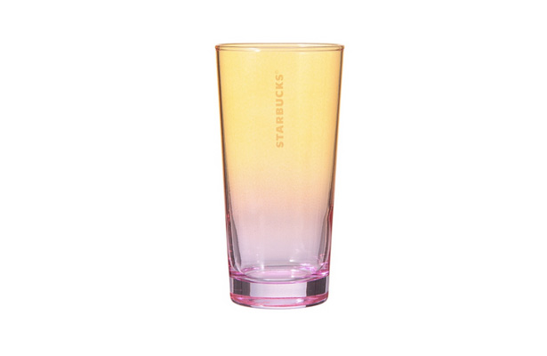 カラーグラス オレンジ&パープル