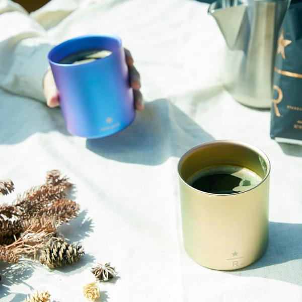 スターバックス リザーブ® ロースタリー 東京 × Snow Peak、タンブラーとマイボトルが販売開始!