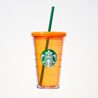 ロゴコールドカップタンブラー オレンジ
