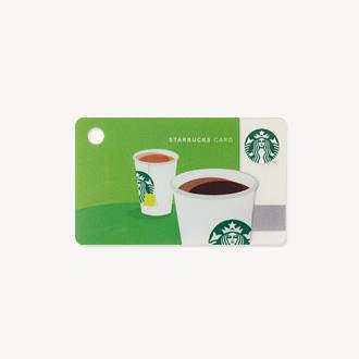 ミニ スターバックス カード コーヒー&ティー