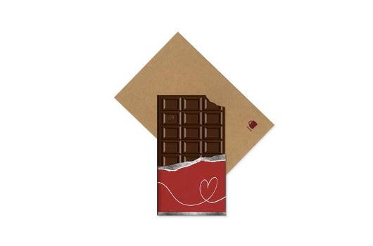 ビバレッジカードチョコレート