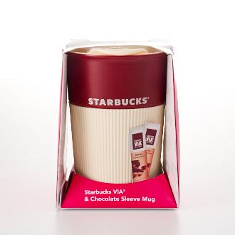 スターバックス ヴィア® & チョコレートスリーブマグ