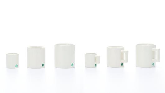 スターバックスコーヒー  フラグメントデザインによるコーヒーカップとコーヒーマグ