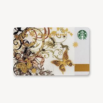 スターバックス カード バタフライ