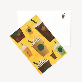 サマービバレッジカード フラペチーノ