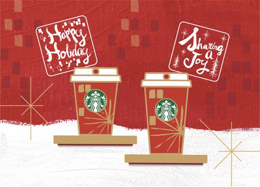 スターバックスコーヒー 2014年12月発売のクリスマス限定タンブラー&グッズ!!