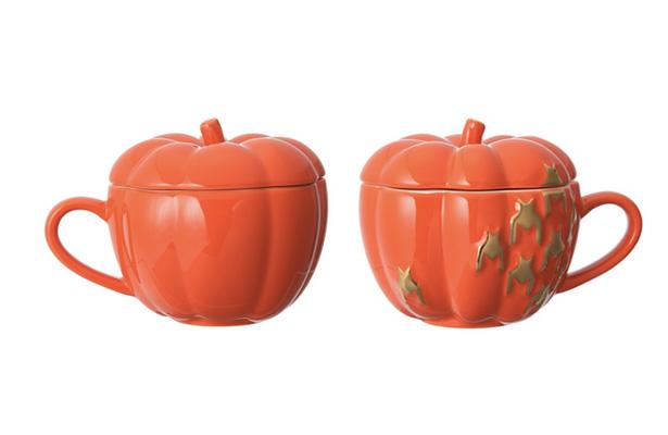 ハロウィンパンプキンマグ オレンジ
