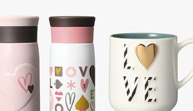 スターバックスコーヒーの2016年バレンタインのタンブラー&グッズ