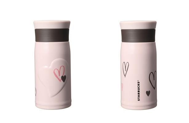 ウィンター ステンレスボトル ピンク