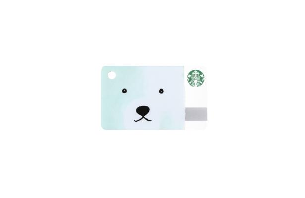 ミニ スターバックス カード ポーラーベア