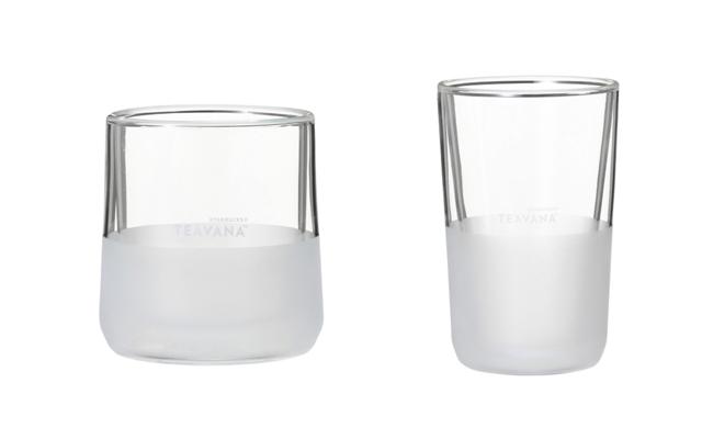 TEAVANA® ダブルウォールグラス 237ml/354ml