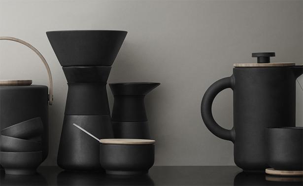 steltonの新シリーズ『Theo』のコーヒーメーカー