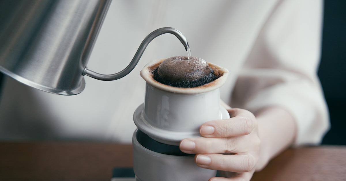 陶器のネルドリッパー【soupir -スピール-】