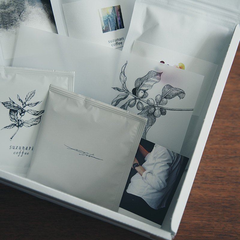 suzunari coffee 【お取り寄せ】ONLINE SHOP限定のスタンダードセットコーヒー豆セット