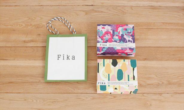 新宿伊勢丹限定の北欧菓子『Fika』の2015クリスマス限定パッケージでクッキーを。